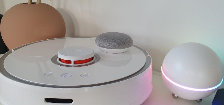 xiaomi roborock robotdammsugare homey google home ifttt