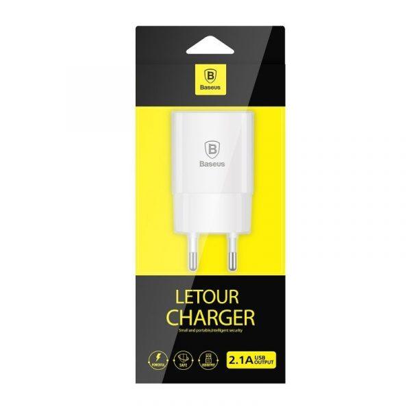 Baseus Letour Charger EU White 17575 7