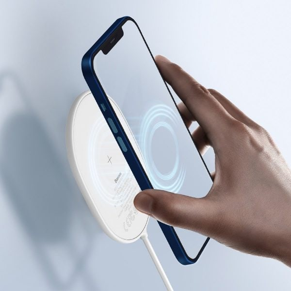 Baseus Light wireless induction charger for iPhone 12 15W white 19701 7