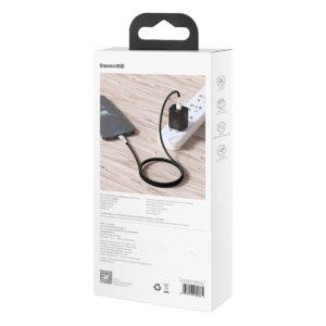 USB C cable for Lightning Baseus Cafule PD 20W 2m black 19706 8