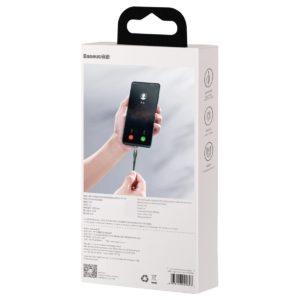 USB magnetic cable Lightning Baseus Zinc 2 4A 1m green 19123 10